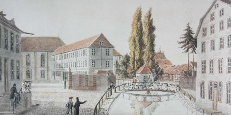 Ansicht des Academischen Museums